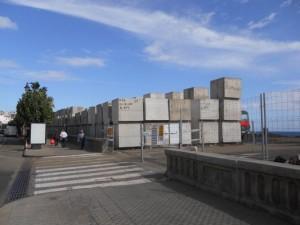Der støbes i øjeblikket masser af beton blokke
