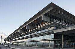Den ny terminal facade