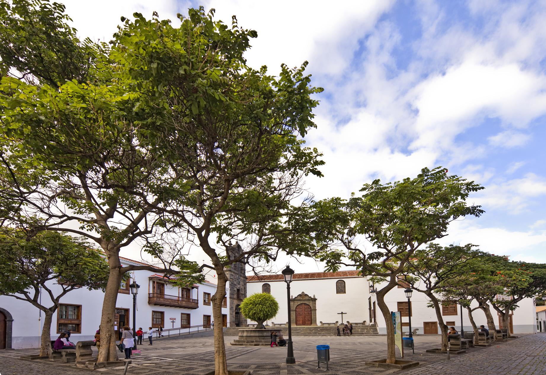 Plaza San Francisco i Santa Cruz de La Palma