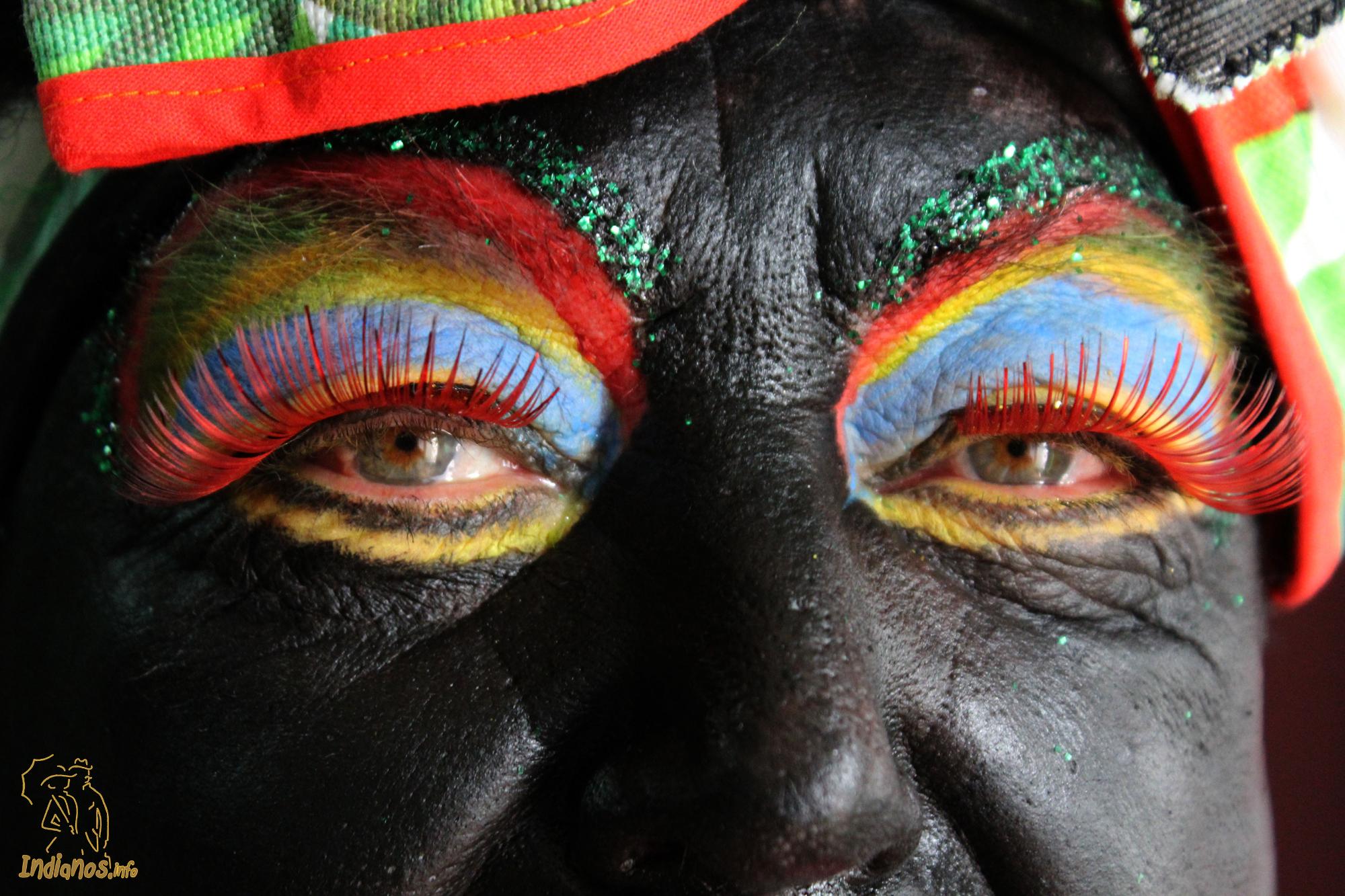 Mandel øjne hedder billedet der vandt fotokonkurrencen. Fotograf Jose Ayut Santos.