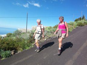 2 veninder på vandretur